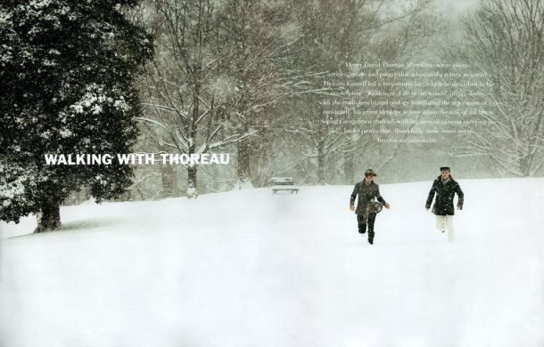 Gant Walking With Thoreau